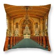 St Edward Interior Throw Pillow