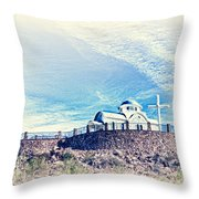 St. Elijah Chapel IIi Throw Pillow