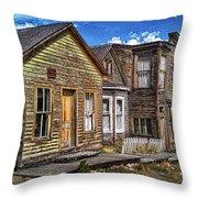 St. Elmo Ghost Town Throw Pillow