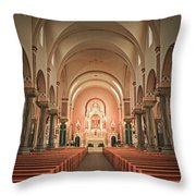 Saint Fidelis Throw Pillow