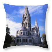 St Finbarrs Cathedral, Cork City, Co Throw Pillow