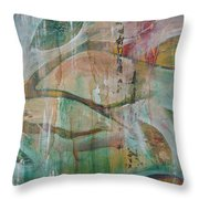 St Francis 2 Throw Pillow by Jocelyn Friis
