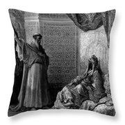 St Francis Of Assisi 1877 Throw Pillow