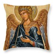 St. Gabriel Archangel - Jcarb Throw Pillow