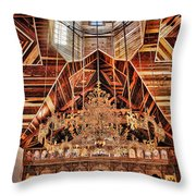 St. George Chapel Throw Pillow