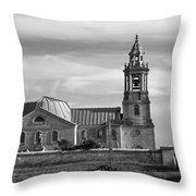 St Georges Church Portland Throw Pillow