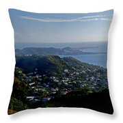 St. George's Grenada Throw Pillow