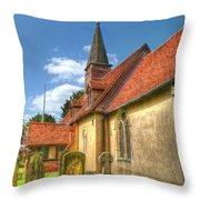 St Giles Ickenham Throw Pillow