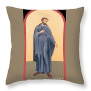 St. Isaac Jogues, Sj - Rlisj Throw Pillow
