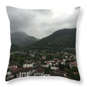 St. Jean Pied De Port Throw Pillow
