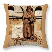 St. Jerome Throw Pillow