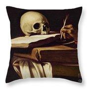 St. Jerome Writing Throw Pillow
