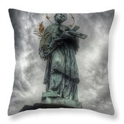 St John Nepomuk Throw Pillow