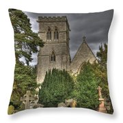 St John The Evangalist Stanmore Throw Pillow
