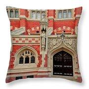 St. Johns College. Cambridge. Throw Pillow