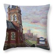 St John's Dixie  Throw Pillow