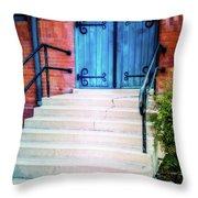St. John's Door Throw Pillow