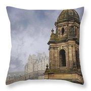 St Johns Edinburgh Throw Pillow