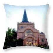 St. John's Episcopal Church Throw Pillow