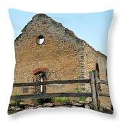 St. John's Lutheran Church Throw Pillow