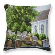 St John's Parish Church Throw Pillow