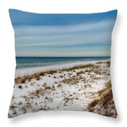 St. Joseph Peninsula Dunes Throw Pillow