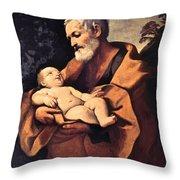 St Joseph Throw Pillow