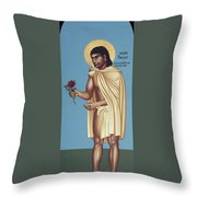 St. Juan Diego Cuauhtlatoatzin - Rljua Throw Pillow