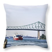 St Lawrence And Laronde Throw Pillow