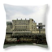 St Lawrence Sunset 1 Throw Pillow