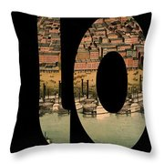 St. Louis 1859 Throw Pillow