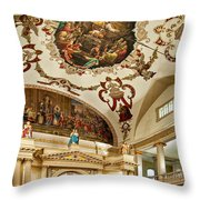 St. Louis Cathedral 2 Throw Pillow