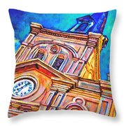 St Louis Throw Pillow