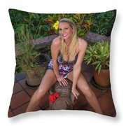 St Lucia Darcy 36 Throw Pillow