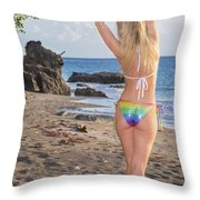 St Lucia Darcy 38 Throw Pillow