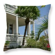 St Lucia Overlook Throw Pillow