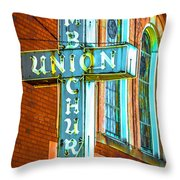St Luke Church Of God In Christ Dsc2907 Throw Pillow