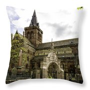 St. Magnus Cathedral Throw Pillow