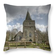 St Margaret Hothfield Throw Pillow