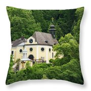 St. Margarethen Kirche Throw Pillow
