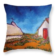 St Maries Throw Pillow by Chaline Ouellet