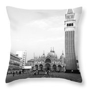 St. Mark's Square Throw Pillow