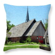 St Martin Of Tours Throw Pillow