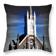 St. Mary In The Mountains Throw Pillow