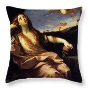 St Mary Magdalene 1632 Throw Pillow