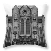 St Mary's Cathedral Memphis Tn Throw Pillow