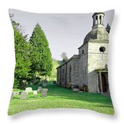 St Mary's Church At Mapleton Throw Pillow