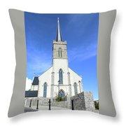St. Marys Church Killybegs Throw Pillow