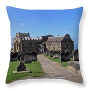 St Mary's Church - Whitby Throw Pillow