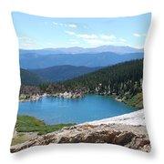 St Marys Glacier Colarado Usa Throw Pillow